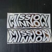 cutting sticker-sticker mission winnow-kyt TT COURSE
