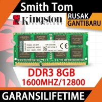 Memori Laptop DDR3 8GB KINGSTON PC3-12800 Original