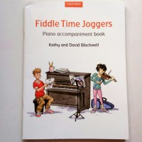 piano Accompaniment book for Fiddle Time Joggers