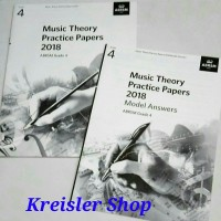 Music Theory Practice paper grade 4 ABRSM 2018 dan Model Answer