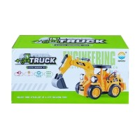 MAINAN ANAK TRUCK ELECTRIC ENGINEERING TOYS 777-52 Excavator Truk Beko