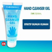 Hand Cleanser Sanitizer Gel Anti Bunuh Kuman Bakteri Bio Herbal