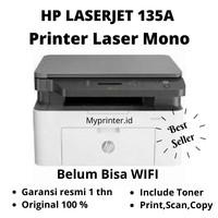 Printer HP Laser MFP 135A Mono / include toner / Garansi Resmi