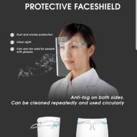 Face Shield Kacamata Nagita Mika Pelindung Wajah Masker Muka APD
