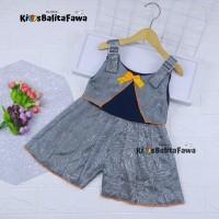 Overall Jessy uk 1-4 Tahun / Dres Anak Perempuan Murah Baju Kensi Cewe