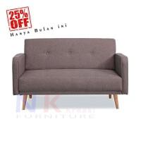 Velio sofa 2 seater scandinavian, sofa apartment 2 dudukan