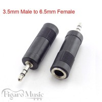 Converter Jack 3.5 mm Male to 6.5mm Female