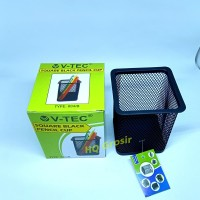 Kotak Pensil | Pencil Cup V-TEC 804 - Black