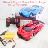 RC Mobil Bugatti Chiron Charger/mainan anak remot control Lampu