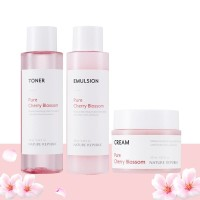 NATURE REPUBLIC Pure Cherry Blossom Glowing Skin Care Set