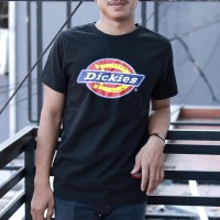 "DICKIES VINTAGE LOGO GRAPHIC T SHIRT ""BLACK"" ORIGINAL"