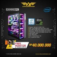Armaggeddon PC Gaming EAGLE 2080-I7 FREE XC39HD CURVE GAMING MONITOR