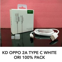 Kabel Cable Data Oppo 2A Type C Original