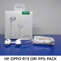 Handsfree Headset Oppo R19 Half Ear Earphone Original OEM