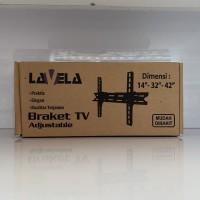 """BRACKET TV LCD LED LAVELA Dimensi 14"""" 32"""" 42"""" INCH BRACKET TV MURAH"""