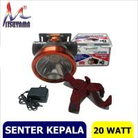 Senter Kepala / Headlamp Mitsuyama 20 watt MS-167P
