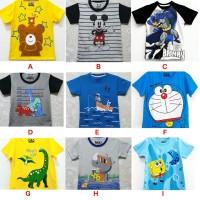 Baju Kaos Atasan Anak Laki Laki FULL PRINT | Kaos Anak Grosir Murah