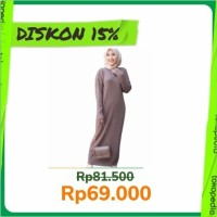 Boxy Long Dress / Long dress Rajut