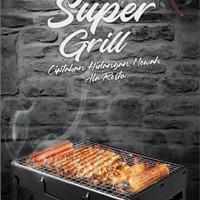 Super grill alat panggang super praktis/pemanggang portable