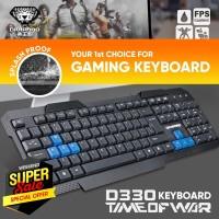 Keyboard Gaming Kabel Divipard D330 Untuk Komputer Laptop