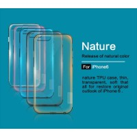 IPHONE 6 / 6S NILLKIN NATURE ORIGINAL SILICONE CLEAR SOFT CASE TPU