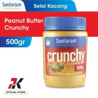 Sanitarium Peanut Butter Crunchy 500gr - Selai Kacang