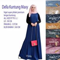 Best Seller Long Dress Pliket Hyget