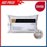 Clarissa Bantal Nano Microfiber Bulu Angsa Sintetis 50x70 cm