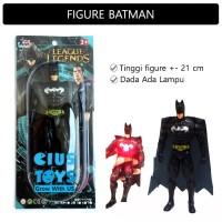 Figure Batman Lampu | Robot Batman Lampu