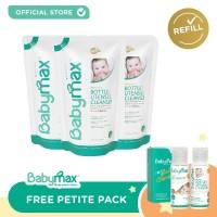 Babymax Baby Safe Bottle & Utensils Cleanser 450mL REFILL (isi 3)