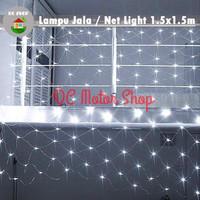 Lampu Natal / Hias Lampu Led Jala / Jaring / Net Light 1.5 x 1.5 M