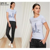 Gap Kaos Wanita London Pakaian Branded Original Murah / 008 Size Read