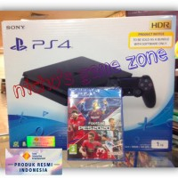 PS4 Slim 1TB Cuh2218B Bundle PES 2020