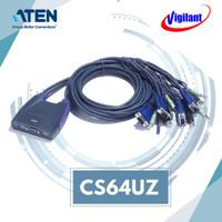 ATEN CS64UZ KVM Switch USB Cable 4-port