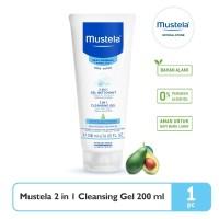 Mustela bebe 2 in 1 Cleansing gel 200 ml