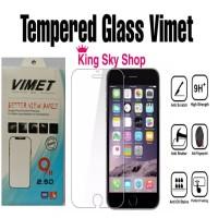 TEMPERED GLASS INFINIX ANTI GORES BENING MERK VIMET