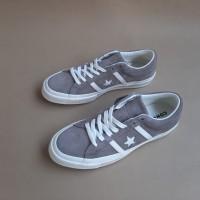 Converse One Star Academy Ox Mason Taupe Sneakers Pria 100% Original - Abu-abu, 41