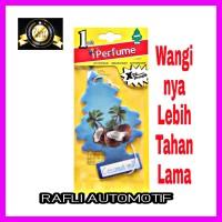 Parfum Mobil Tempel Aroma Coconut Milik Pengharum Pewangi Gantung Mobi