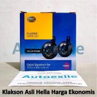 Hella Classic Horn Set 12V Anti Semprot Air Klakson Disc Motor Mobil