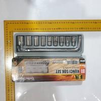 KAIR Tool Kit 10 In 1 Set Kunci Sock Pas SHOCK Sok kenmaster tekiro