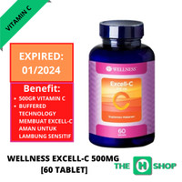 Wellness Excell C Vitamin C 500mg [60 tablet]