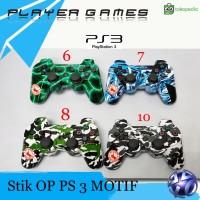 Stik PS 3 Stick PS3 DS3 Ori Pabrik Motif Corak 1