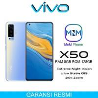 Vivo X50 Smartphone 8/128 Ram 8gb Rom 128gb GARANSI RESMI