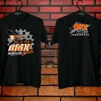 kaos motor bmx cub hitam