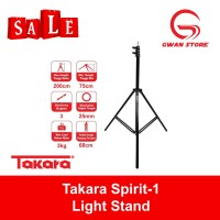 Light Stand Takara Spirit-1 Lightstand Studio Flash Umbrella