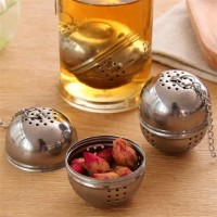 Saringan teh kopi celup di gelas Tea Maker Praktis - Alat Seduh Teh