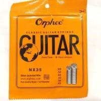 senar gitar kelasik nylon merk orphee original