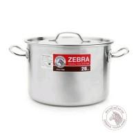 Zebra Stock Pot 26x18 cm (171126) / Panci Stainless