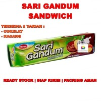 Roma Sari Gandum Sandwich | Cokelat / Kacang | Biskuit Gandum Enak