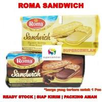 Roma Sandwich | Biskuit Krim Rasa Cokelat / Kacang